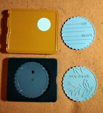 Fiskars Scalloped Circle Topper - Tags - To/From & Thank You - Ex Condition