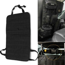 Large Tactical MOLLE Car Seat Back Organizer Pocket Panel Cover Storage Bag