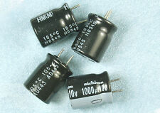 10pcs Nichicon HM 1000uf 10v 105C Radial Electrolytic Capacitor  Low ESR