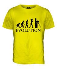VINTAGE PHOTOGRAPHER EVOLUTION OF MAN MENS T-SHIRT TEE TOP GIFT