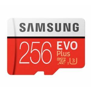 Samsung Evo Plus 256GB Micro SD Card SDXC Class10 Camera Memory 4K U3 100MB/s