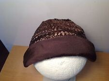 Antique cloche hat original Woven Rafia hat antique 1940s 1950s  Jacoll Bonnet