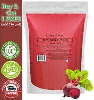 1 lb Beet Root Powder (Beta vulgaris) Raw & Non-GMO Super Food Raíz de Remolacha