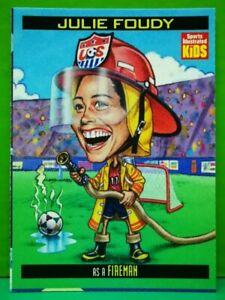 Julie Foudy 1999 Sports Illustrated For Kids #839