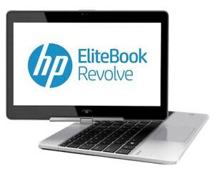 """HP EliteBook Revolve 810 G3 Laptop 11.6"""" i5-4300U 4GB 128GB SSD Win10 4G Tablet"""