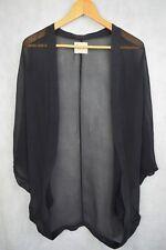 Gypsy 05 Hollywood BOHO Charcoal Silk Kimono style Jacket 8.10.12