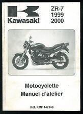Revue d'Atelier KAWASAKI ZR 7 - 1999/2000 ZR 750 F1-F2 Manuel Technique Français