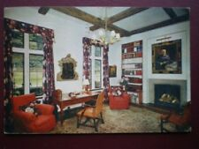 POSTCARD KENT WESTERHAM - CHARTWELL HOUSE THE LIBRARY
