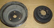 350 Chevy  vortec engine crankshaft & water pump pulley's GM 12550053; 10085754