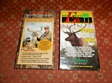Monster Bucks Iii & Elk Challenge Vhs Videos (1 New/1 Used)