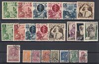 BE5764/ RUSSIA – 1936 / 1937 USED SEMI MODERN LOT – CV 215 $