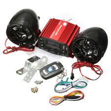 Motorcycle ATV UTV Bike Remote Audio System Handlebar FM Radio iPod Stereo 12V