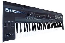 ROLAND D-50 D50 D 50 Kult LA Synthesizer 80's / Top-Zustand + Rechng + GEWÄHR!