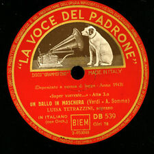 """Luisa Tetrazzini-soprano - """"un ballo in maschera"""" saper.../""""Traviata """"g2866"""