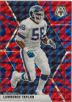 2020 Panini Mosaic Lawrence Taylor Blue Reactive Prizm SP New York Giants (B3)