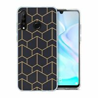 For Huawei P30 LITE Silicone Case Geometric Abstract - S6130