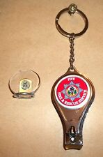 Fife Fire & Rescue Service key ring,nail clipper,bottle opener post free.