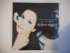 HELENE SEGARA : IL Y A TROP DE GENS QUI T'AIMENT [ CD SINGLE NEUF PORT GRATUIT ]
