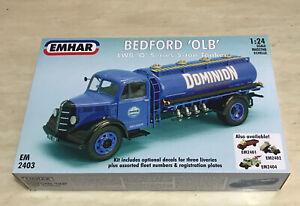 1/24 BEDFORD 'OLB' LWB 'O' series 5 ton TANKER 1:24 Emhar EM2403 Brand NEW