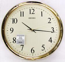 Seiko Quartz Battery Powered Wall Clocks For Sale Ebay