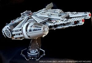 Display stand angled no.2 for 75105/7965 Millennium Falcon (Star Wars-Lego)