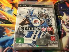Madden NFL 13 PS3 Sony Playstation 3 Game COMPLETE