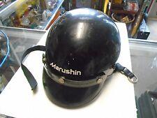 Vintage Dot MZ-H Marushin Motorcycle Helmet Size Large 7 3/8