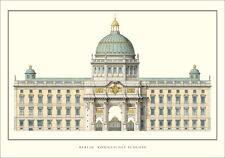 Berlino REGIO CASTELLO POSTER immagine stampa d'arte 70x100cm