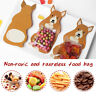 10* Party Decor Candy Bags DIY Snack Gift Bag With Greeting Cards  Cute Animal