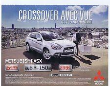 PUBLICITE ADVERTISING 104 2011 MITSUBISHI ASX crossover avec vue