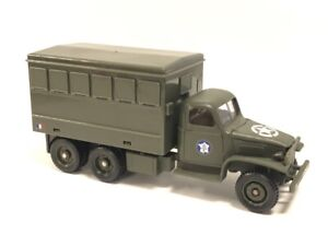 Truck GMC Cckw 353 6x6 Workshop 1/50 n56 Metal Tanks And Vehicles Military