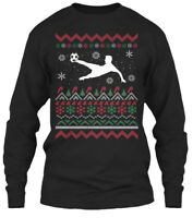 Soccer Dad-ugly Christmas Sweater Gildan Long Sleeve Tee T-Shirt