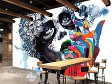 3D Graffiti Urban Princess Girl Wall Murals Wallpaper Wall Art Decals Decor
