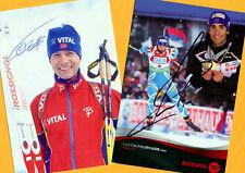 Ole Einar Björndalen-Martin Fourcade (4) - 2 Super AK pictures + Ski AK FREE