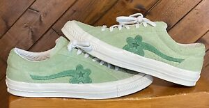 Converse One Star Golf Le Fleur Tyler the Creator Jade Lime Green Mens Size 12