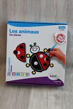 Jeu d'éveil éducatif pour enfants Les animaux avec des scratch - Ludi Scotchi
