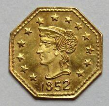 ETATS-UNIS - 1/4 de Dollar California Gold - 1852 -