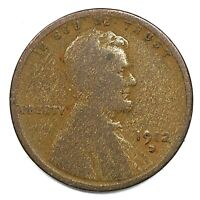 1912-D United States Lincoln Wheat Cent Penny - G