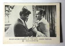 "1966 Roger Moore as ""The Saint"" Somportex Trading Card #7 from Denmark/UK"