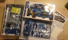 TAMIYA SUBARU IMPREZA WRC 1999 '99 1:24 MODEL KIT UN-BUILT COMPLETE BRAND NEW