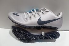 06e7f040a4ce New Nike Zoom Ja Fly 3 Grey and Thunder Blue Track Spikes Shoes Men s Size  14