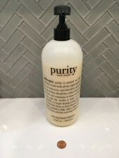 *SUPER SIZE WITH PUMP* Philosophy Purity Made Simple - 32oz - 946.4ml (Used)