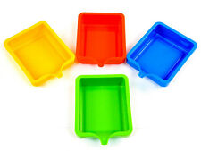 Saver Trays with spout (4) Reduce waste Pour unused paint, sand etc  back