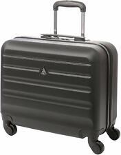 "Aerolite Hard Shell Rolling Laptop Case Bag 4 Wheels - Fits up to 15.6"" laptop"