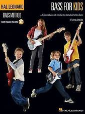 Hal Leonard Bass Method Bass For Kids Beginners Guide Bgtr Tab (PB) 1423498488