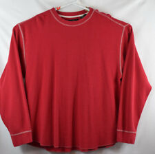 RedHead mens XXL Thermal Shirt Long Sleeve red EUC