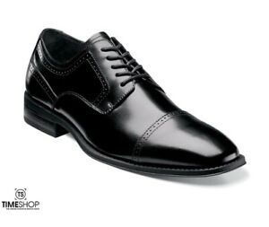 Stacy Adams Waltham Cap Toe Oxford 20138-001 Size 10