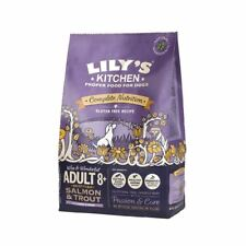 4 x Lilys Kitchen Adult 8+ Scottish Salmon & Trout Gluten Free Dry Dog Food 1 kg