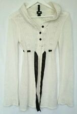 Hooded Patternless Long Jumpers & Cardigans for Women