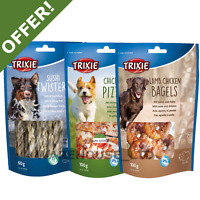 Trixie PREMIO Chicken, Fish, Bagels, Sushi, Goose, Lamb Wraps Dog Treats, Snacks